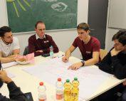 Projektabend 2 - Gemeinsam mit ACCESS, Studenten arbeitet BIRNE7 an neuen technologischen Ideen